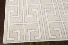 Load image into Gallery viewer, Michael Amini Glistening Nights Beige Area Rug By Nourison MA507 BGE (Runner)
