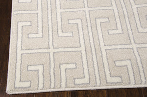 Michael Amini Glistening Nights Beige Area Rug By Nourison MA507 BGE (Runner)