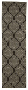 Michael Amini Glistening Nights Grey Area Rug By Nourison MA508 GRY