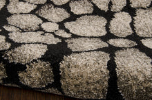 Load image into Gallery viewer, Michael Amini Glistening Nights Black Area Rug By Nourison MA509 BLK (Runner)