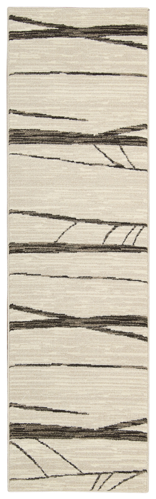 Michael Amini Glistening Nights Ivory Area Rug By Nourison MA512 IV