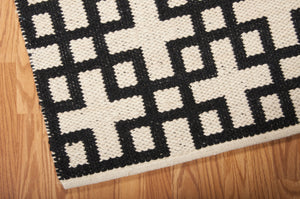 Barclay Butera Maze Midnight Area Rug By Nourison MAZ01 MID (Rectangle) | BOGO USA