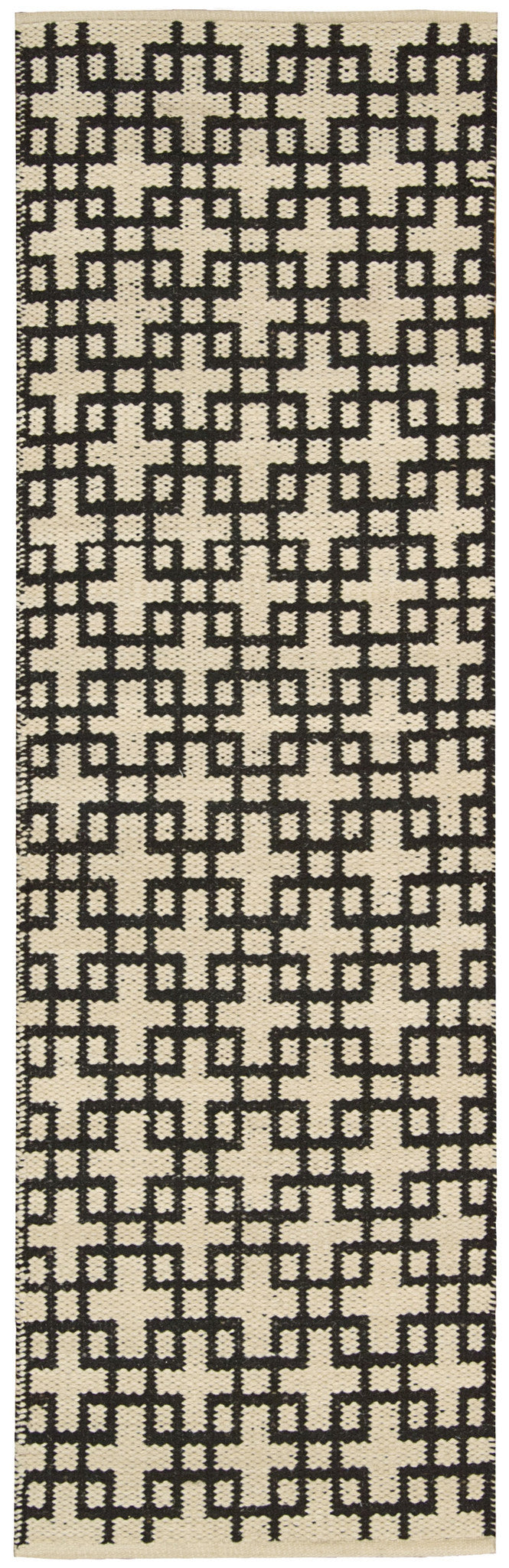 Barclay Butera Maze Midnight Area Rug By Nourison MAZ01 MID (Runner) | BOGO USA
