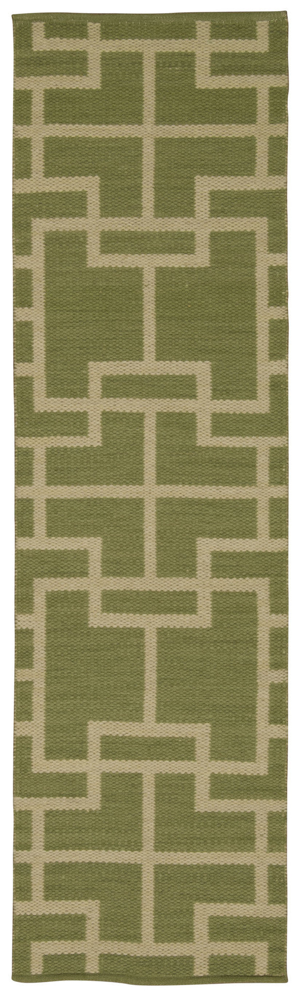 Barclay Butera Maze Lemon Grass Area Rug By Nourison MAZ02 LEGRA (Runner) | BOGO USA