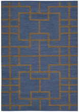 Load image into Gallery viewer, Barclay Butera Maze Ocean Area Rug By Nourison MAZ02 OCEAN (Rectangle) | BOGO USA