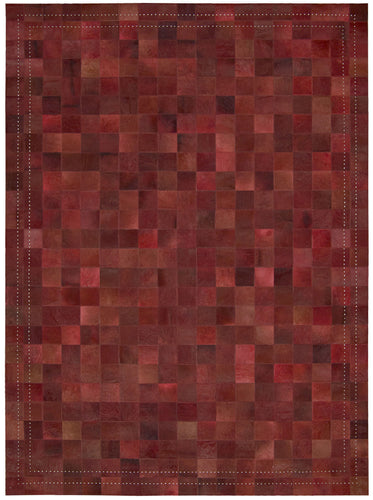 Barclay Butera Medley Scarlet Area Rug By Nourison MED01 SCARL (Rectangle) | BOGO USA