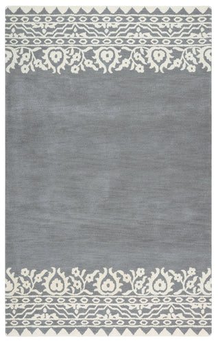 Rizzy Home Marianna Fields MF090A Gray Ornamental Area Rug