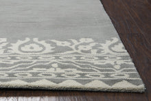 Load image into Gallery viewer, Rizzy Home Marianna Fields MF090A Gray Ornamental Area Rug