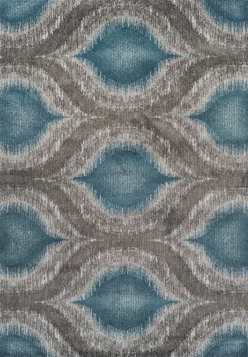Dalyn Modern Greys Teal Mg4441 Area Rug