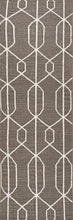 Load image into Gallery viewer, Jaipur Rugs Flat-Weave Geometric Pattern Gray/Ivory Wool Area Rug