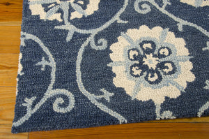 Nourison Marina Navy Area Rug MRN09 NAV (Rectangle)