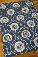 Load image into Gallery viewer, Nourison Marina Navy Area Rug MRN09 NAV (Rectangle)
