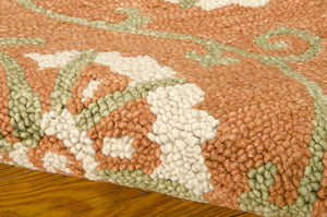 Nourison Marina Persimmon Area Rug MRN09 PER (Rectangle)