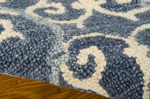 Nourison Marina Denim Area Rug MRN10 DEN (Rectangle)
