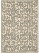 Load image into Gallery viewer, Nourison Marina Silver Area Rug MRN10 SIL