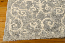 Load image into Gallery viewer, Nourison Marina Silver Area Rug MRN10 SIL (Rectangle)