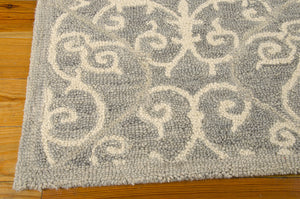 Nourison Marina Silver Area Rug MRN10 SIL (Rectangle)