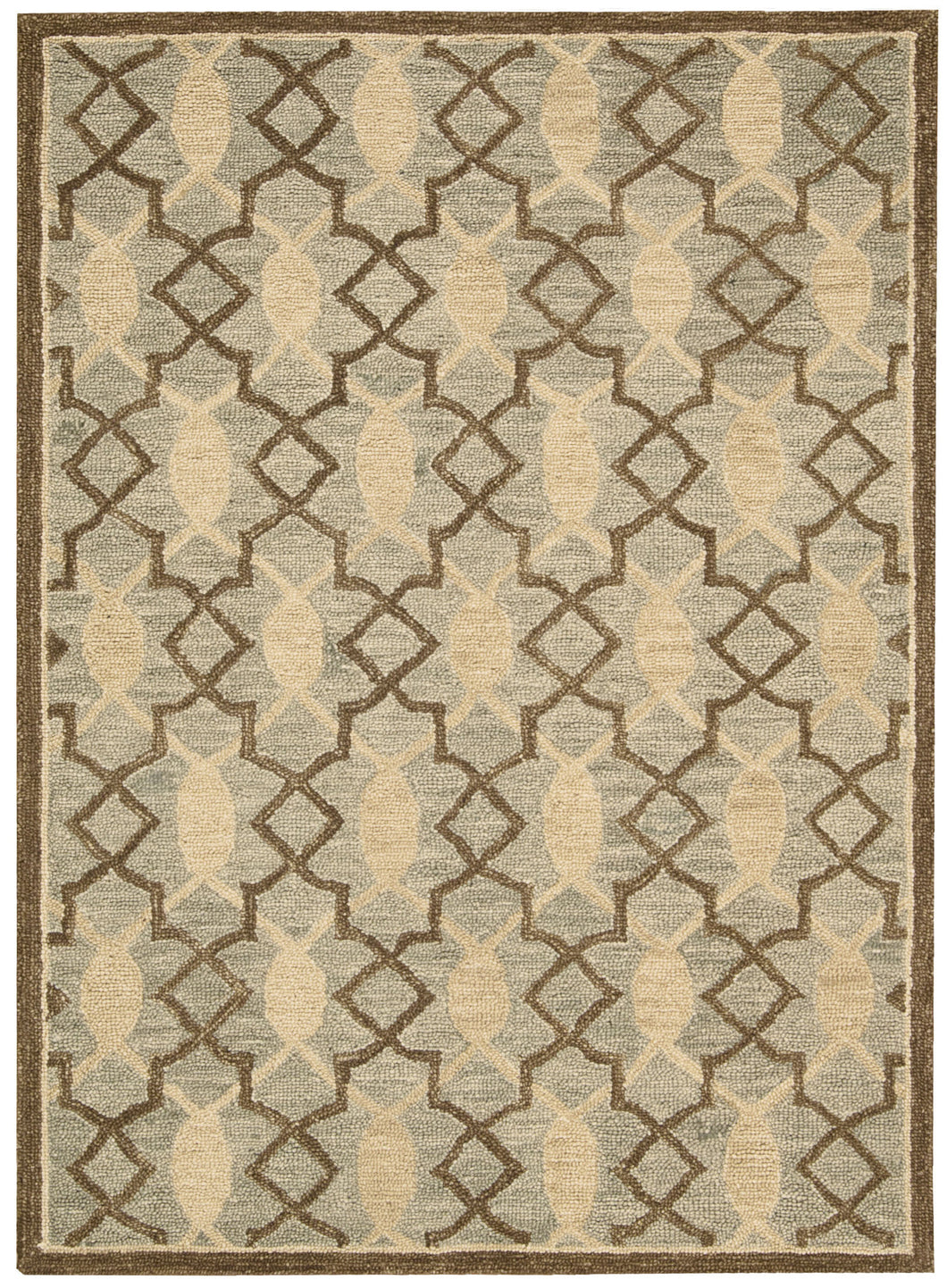 Nourison Marina Light Green Area Rug MRN15 LTG