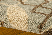 Load image into Gallery viewer, Nourison Marina Light Green Area Rug MRN15 LTG (Rectangle)