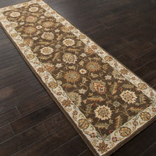 Load image into Gallery viewer, Jaipur Rugs Classic Oriental Pattern Brown/Ivory Wool Area Rug MY01 (Runner)