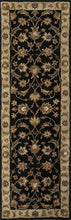 Load image into Gallery viewer, Jaipur Rugs Classic Oriental Pattern Black/Taupe Wool Area Rug