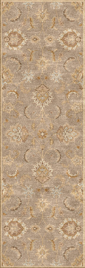 Jaipur Rugs Transitional Oriental Pattern Gray/Taupe Wool Area Rug