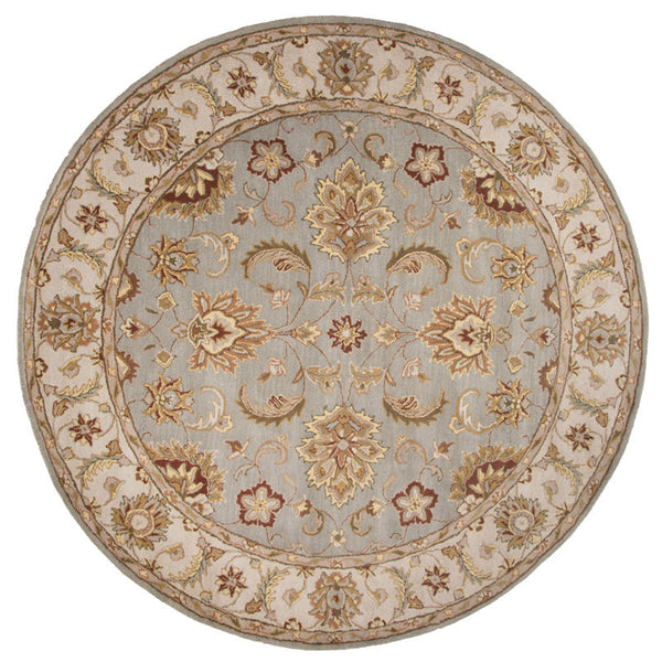 Jaipur Rugs Classic Oriental Pattern Gray Ivory Wool Area