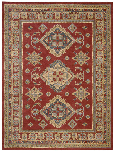 Nourison Maymana Red Area Rug MYN01 RED
