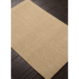 Jaipur Rugs Naturals Solid Pattern Taupe/Tan Sisal Area Rug NAS04 (Rectangle)