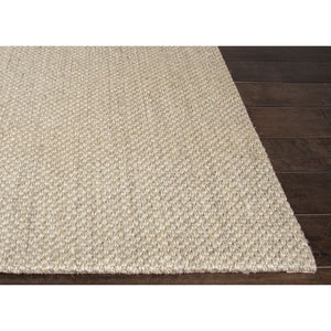 Jaipur Rugs Naturals Solid Pattern Taupe/Ivory Sisal Area Rug NAS07 (Rectangle)