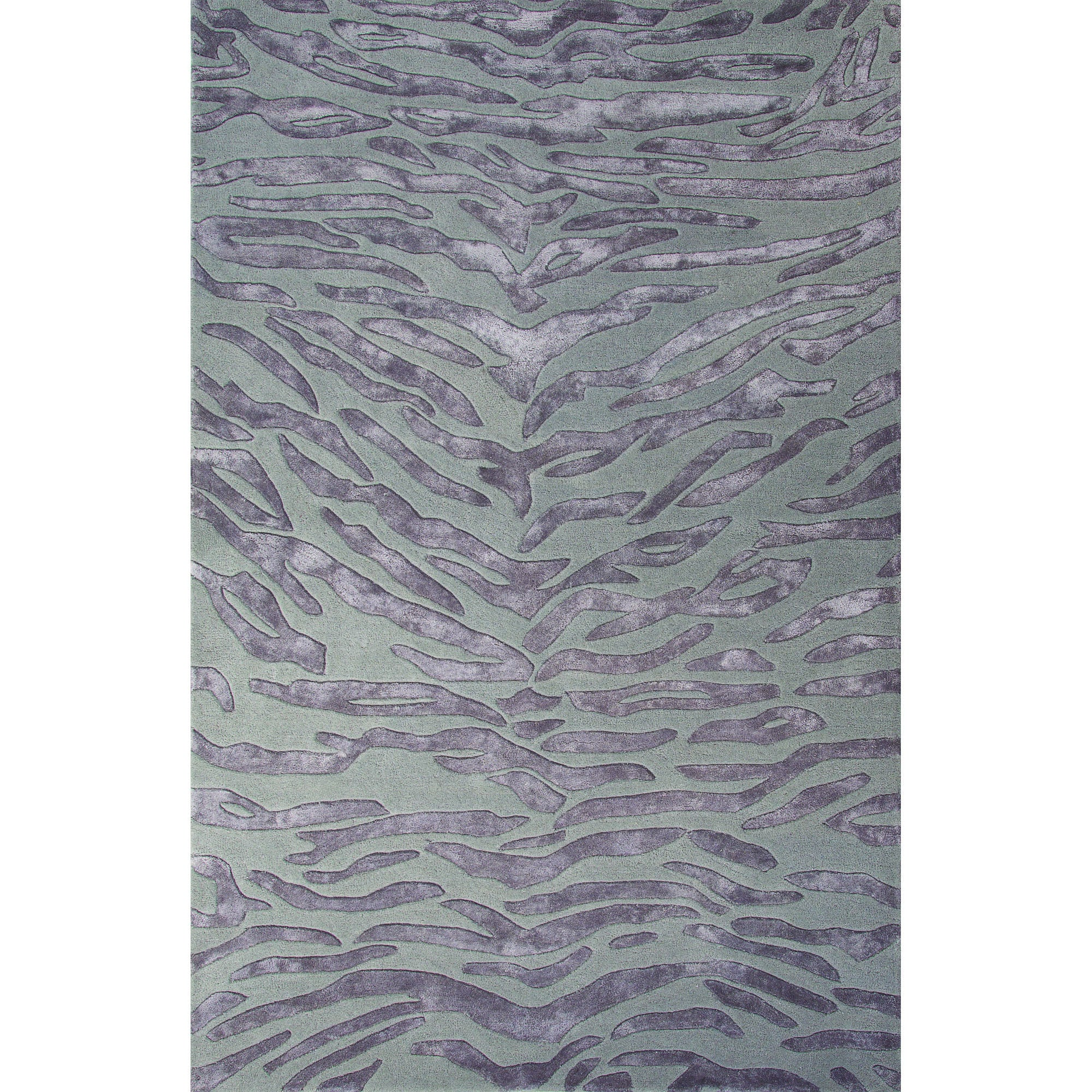 Jaipur Rugs Modern Animal Print Pattern Gray Wool And