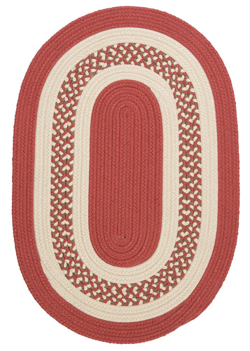 Colonial Mills Crescent NT71 Terracotta Indoor/Outdoor Area Rug