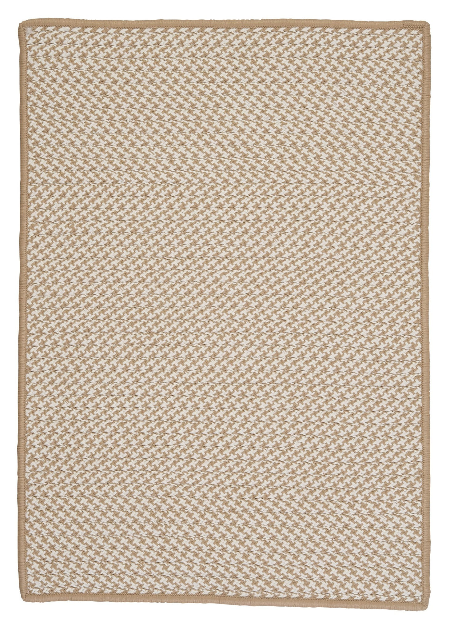 Colonial Mills Outdoor Houndstooth Tweed Ot89 Cuban Sand
