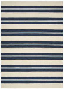 Barclay Butera Oxford Awning Stripe Area Rug By Nourison OXFD2 AWNIN (Rectangle) | BOGO USA