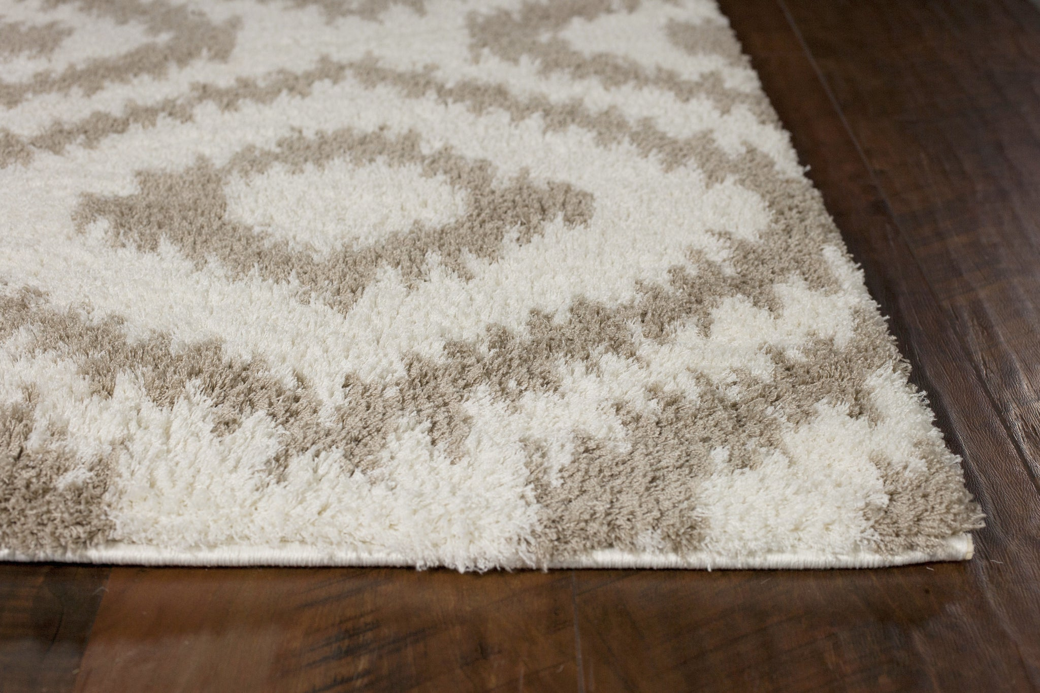 Kas Rugs Oasis 1651 Ivory Beige Concentro Area Rug Rugmethod