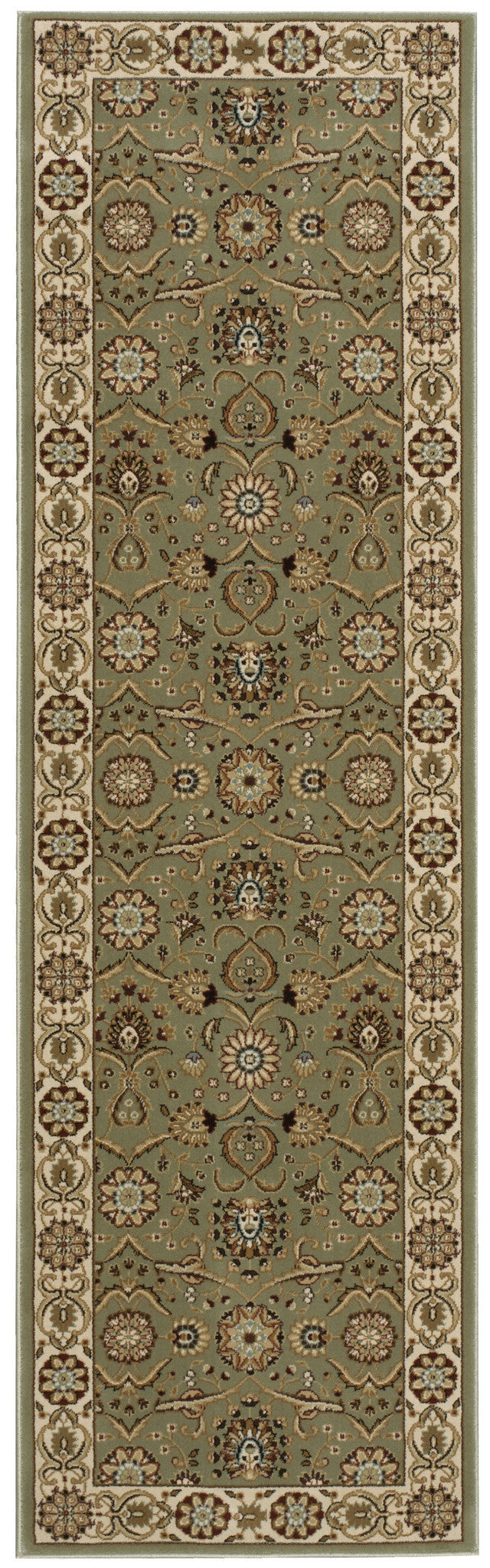 Nourison Persian Crown Green Area Rug PC001 GREEN