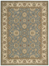 Load image into Gallery viewer, Nourison Persian Crown Blue Area Rug PC002 BLU