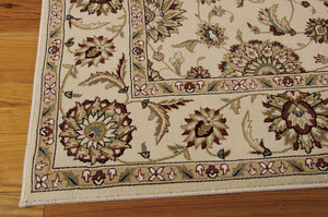 Nourison Persian Crown Ivory Area Rug PC002 IV