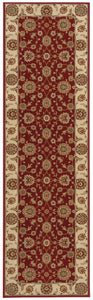 Nourison Persian Crown Red Area Rug PC002 RED
