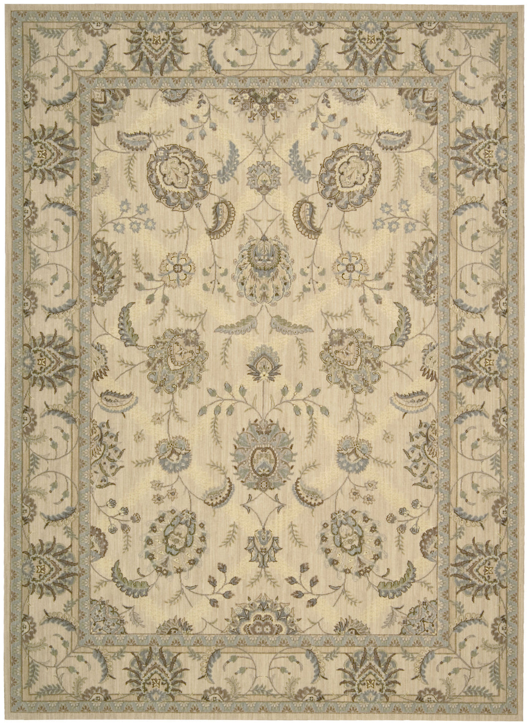 Nourison Persian Empire Ivory Area Rug PE22 IV