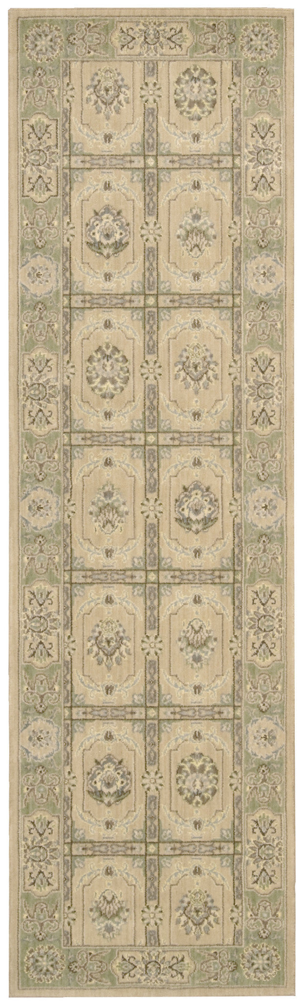 Nourison Persian Empire Sand Area Rug PE23 SAN