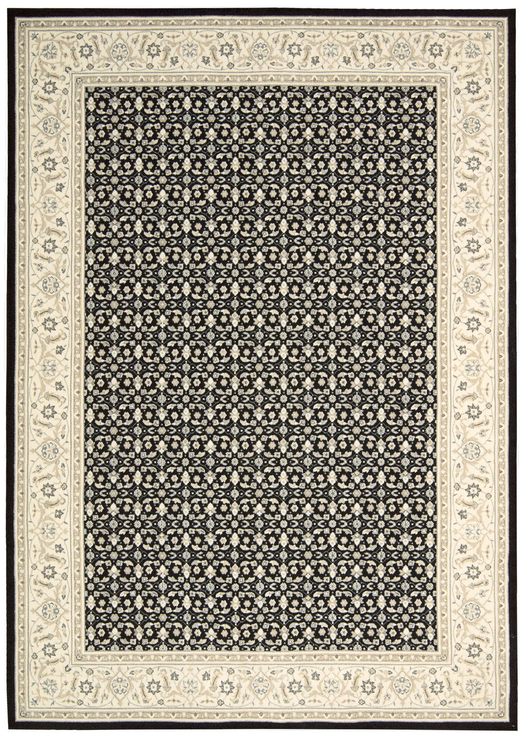 Nourison Persian Empire Black Area Rug PE26 BLK