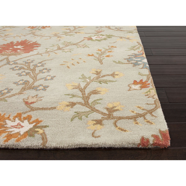 Jaipur Rugs Transitional Arts And Crafts Pattern Blue Red