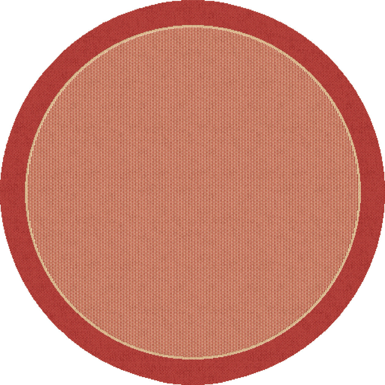 Dynamic rugs piazza red modern round area rug rugmethod for Modern round area rugs