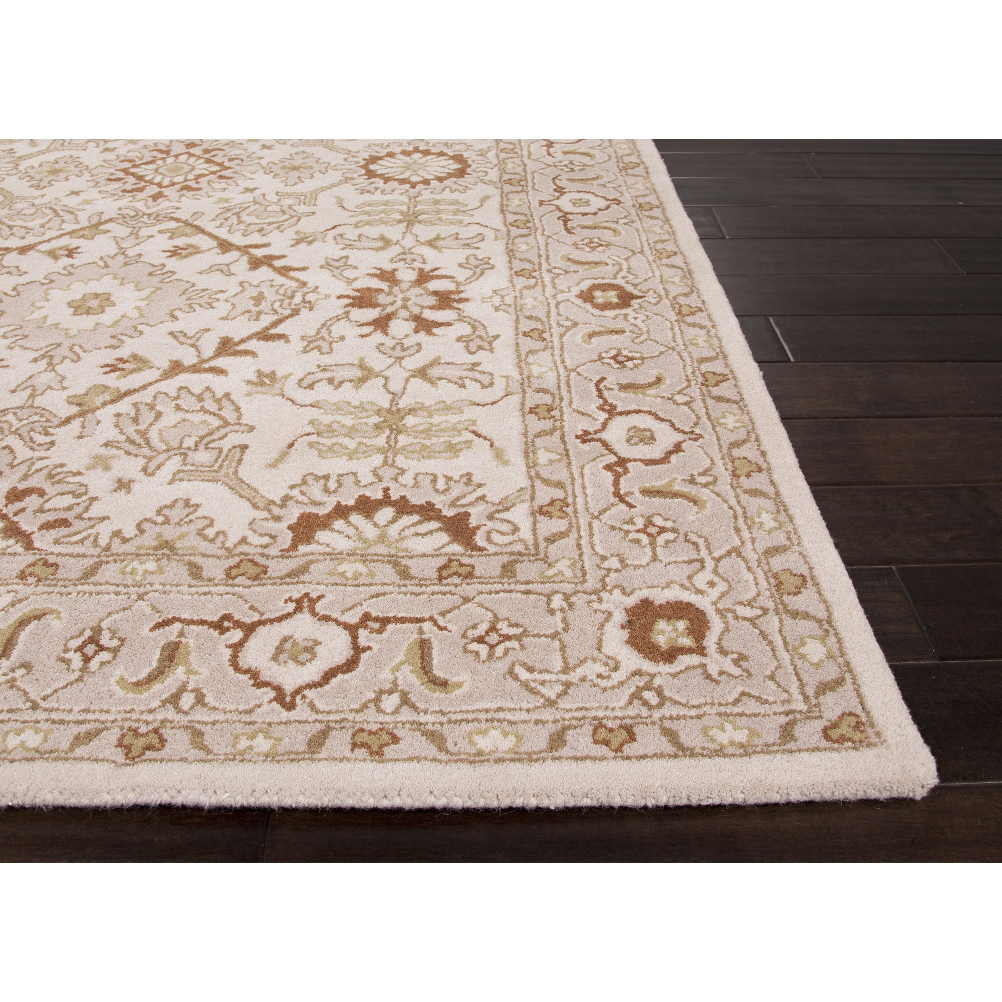 Jaipur Rugs Classic Oriental Pattern Ivory Red Wool Area