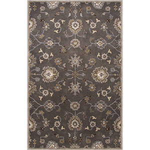 Jaipur Rugs Transitional Oriental Pattern Gray/Ivory Wool Area Rug