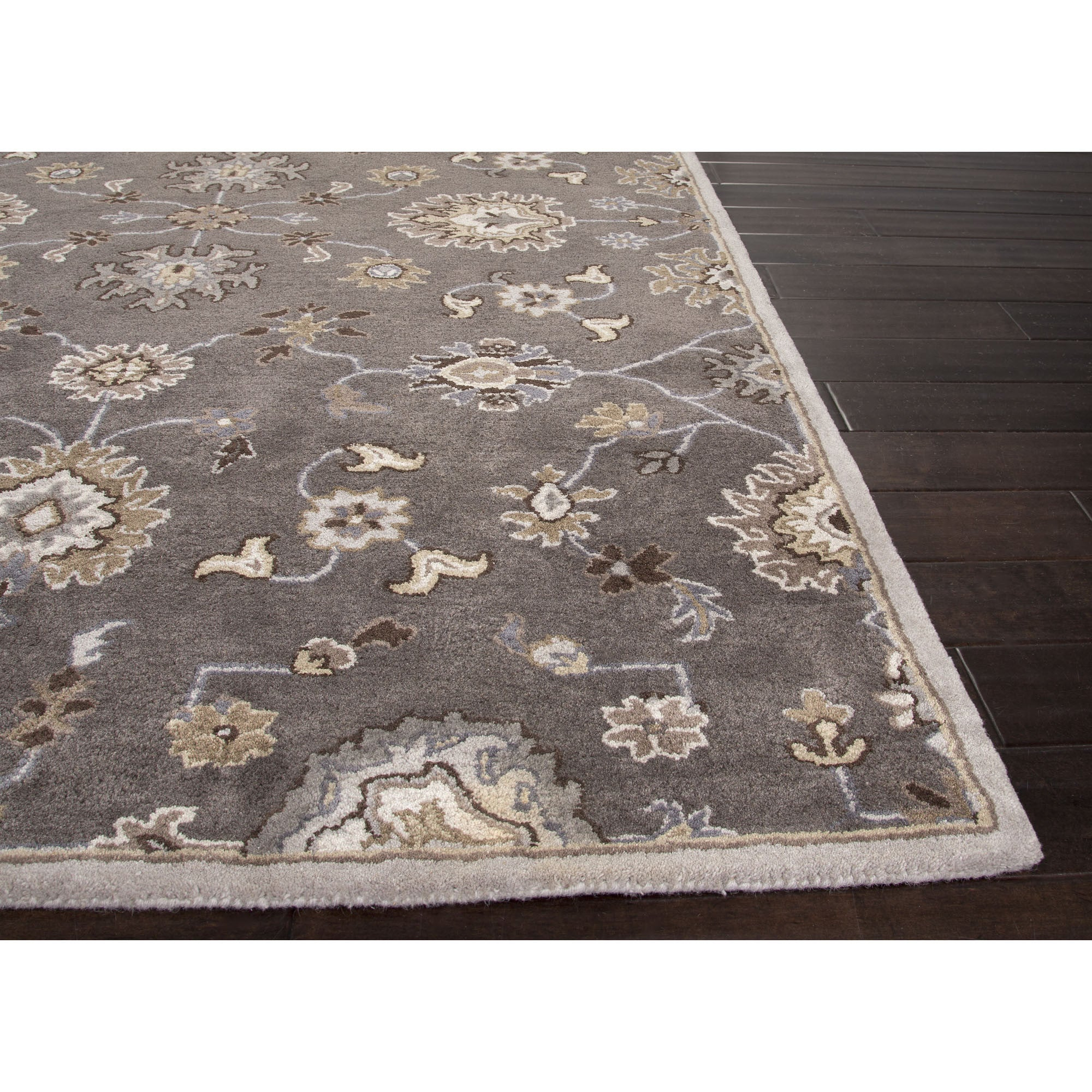 Oriental Rugs Grand Rapids: Jaipur Rugs Transitional Oriental Pattern Gray/Ivory Wool