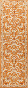 Jaipur Rugs Transitional Oriental Pattern Orange/Ivory Wool Area Rug