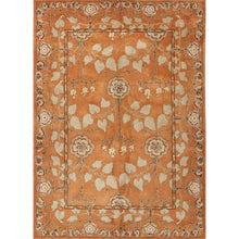 Load image into Gallery viewer, Jaipur Rugs Classic Arts And Crafts Pattern Orange/Green Wool Area Rug