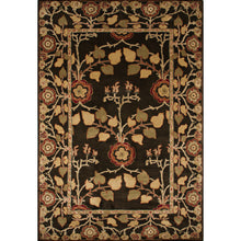 Load image into Gallery viewer, Jaipur Rugs Classic Arts And Crafts Pattern Brown/Yellow Wool Area Rug